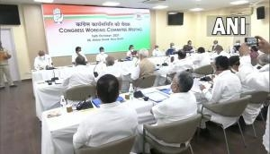 CWC meeting: I am full-time, hands-on Congress President, says Sonia Gandhi