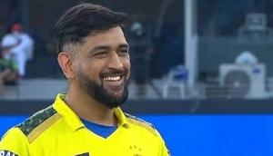 After CSK lifts trophy, Dhoni hints at playing IPL 2022