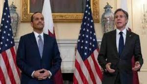Antony Blinken, Qatari FM discuss Afghanistan