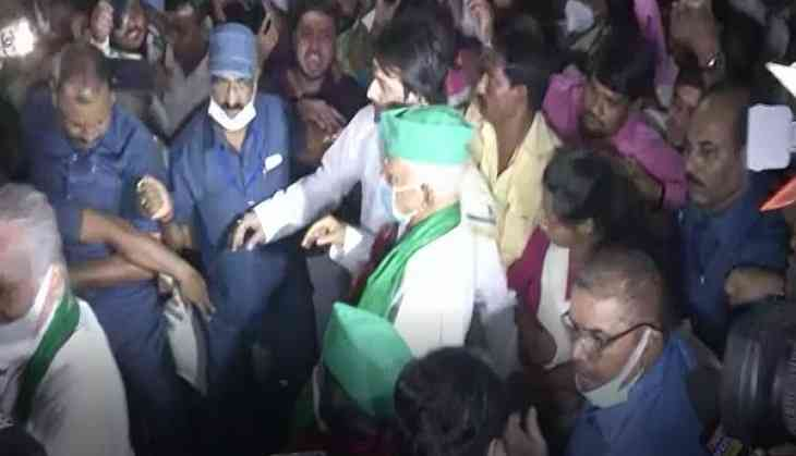 Lalu Prasad Yadav reaches Patna, to campaign for by-elections in Kusheshwar Asthan, Tarapur
