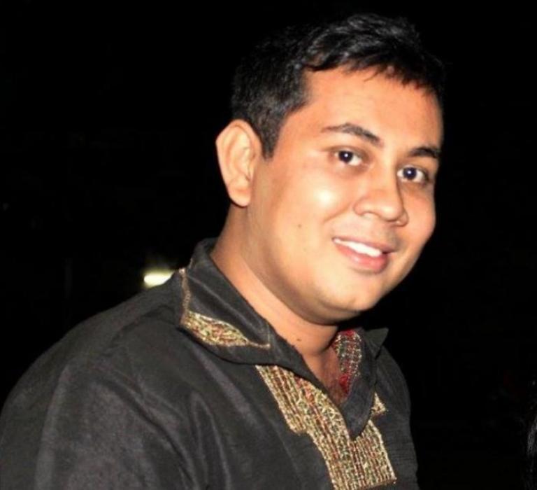 Bangladeshi blogger Niloy Neel_PHOTO: HTTP://ARIF.EU/