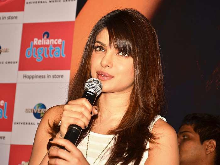 Priyanka Chopra _ file photo