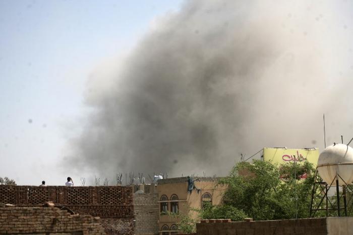 Yemen_Air strike_Mohammed Huwais/AFP