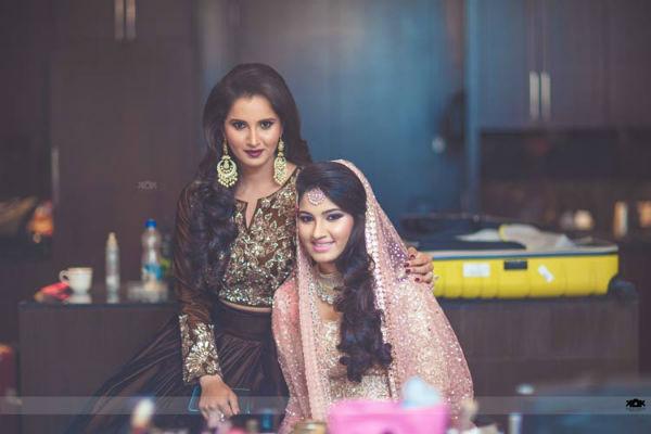Sania Mirza-sister-wedding1/ Facebook/ Kamal Kiran Photography