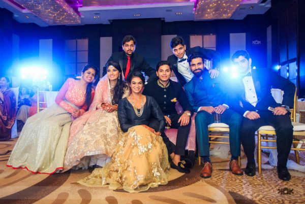 Sania Mirza-sister-wedding7/ Facebook/ Kamal Kiran Photography