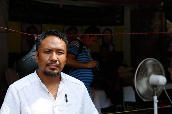 Tenzing , President, Tibetan Youth Congress (Photo: Vikas Kumar/ Catch News)