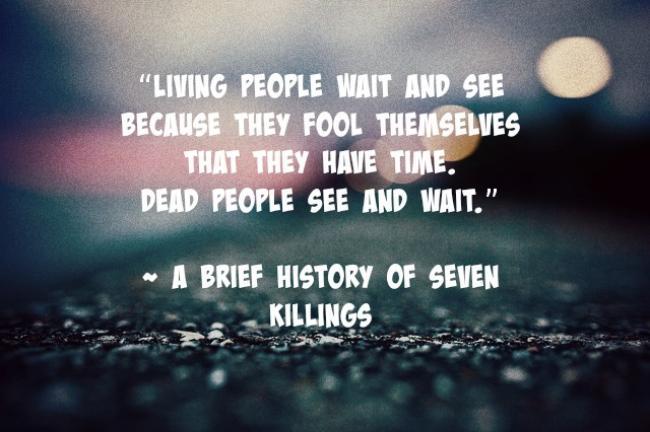 A Brief History of Seven Killings3