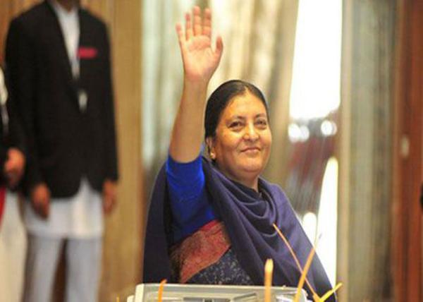 nepal woman president/wire/patrika