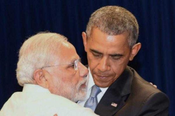 Modi and Obama_PTI
