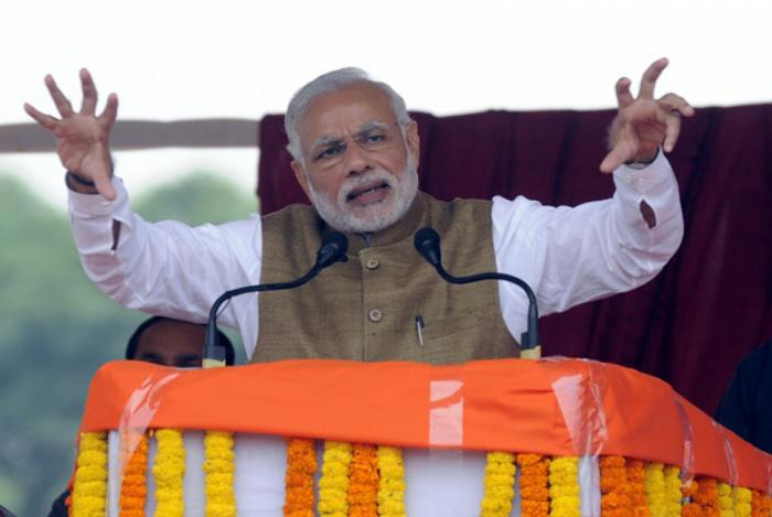Narendra Modi. Sonu Mehta/Getty Images