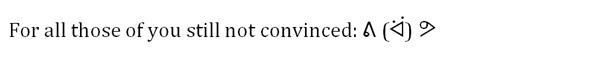 emoji final line