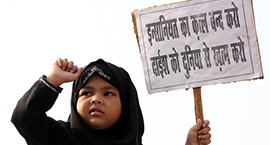United against terror: Shias and Sunnis hold protests in Lucknow
