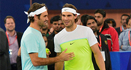 Nadal & Federer in New Delhi: epics are made of these