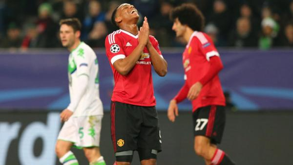 Anthony Martial, Manchester United. File photo.