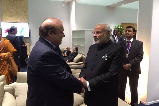 Modi sharif cop21