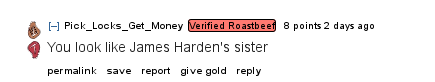 Reddit roast me embed 1
