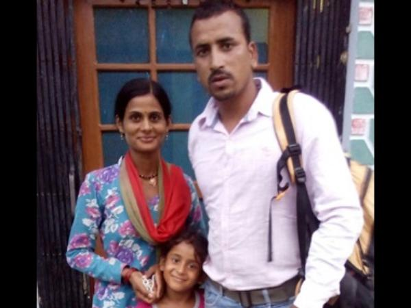 Goswami with his family.jpg