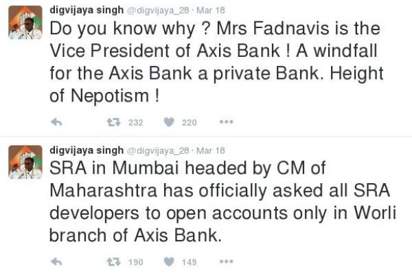Digvijay Singh tweets