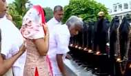 Kerala Election 2016 result: CM Oommen Chandy visits church