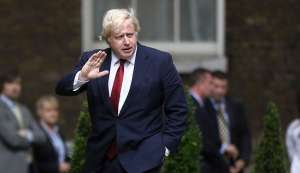 UK Foreign Secretary Boris Johnson arrives in India on first official visit