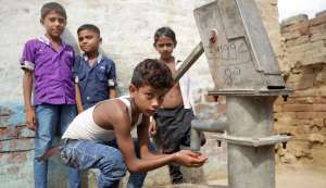 Bagpat villagers wait for clean drinking water, get toilets instead