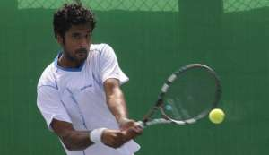 US Open: Saketh Myneni out in first round; narrowly missed a match with Novak Djokovic