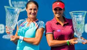 Connecticut Open: Sania Mirza and Monica Niculescu win their first doubles title