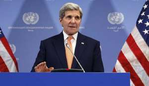 John Kerry tells CNN Trump criticism of German leader Angela Merkel 'inappropriate'