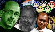 Vijay Goel, Anil Vij & Udit Raj - the three stooges ruining Indian sport