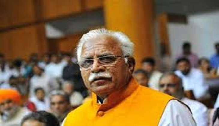 Khattar says committing suicide does not give anyone title of a 'martyr'