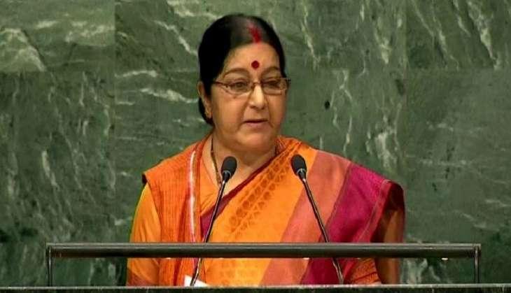 Sushma Swaraj undergoing dialysis at AIIMS