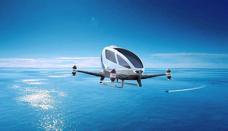 Uber plans self-flying drone taxis to beat city traffic