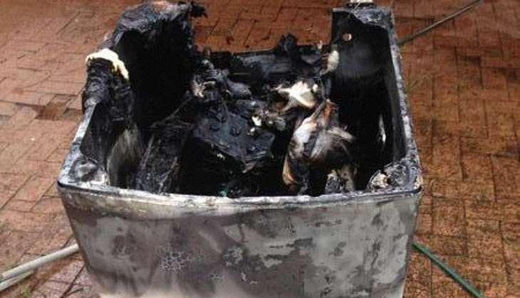 samsung exploding washing machine