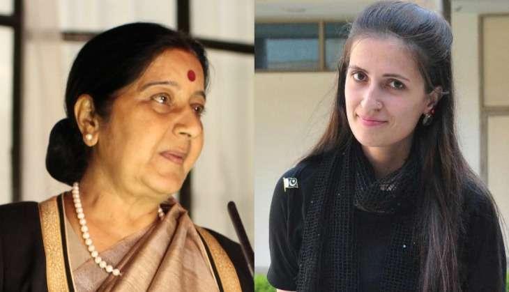 Sushma Swaraj helps Pak girls get back home