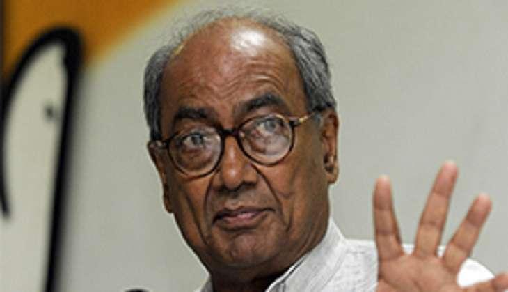 PM Modi government enjoying majority gained by efforts of BJP veterans: Digvijaya Singh