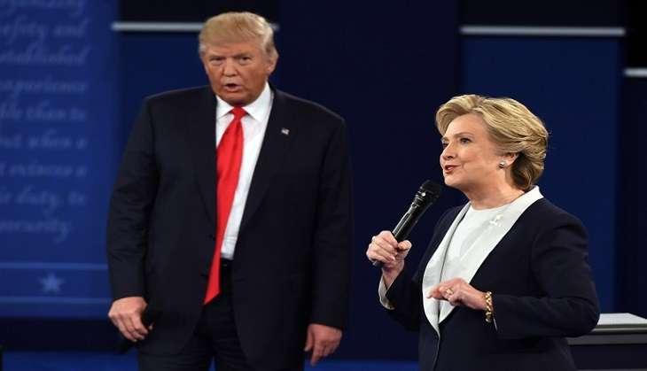 US polls 2016: Donald Trump's final target is democracy itself, says Hillary Clinton