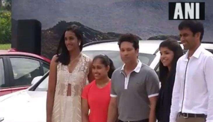 Dipa Karmakar returns BMW presented by Sachin Tendulkar