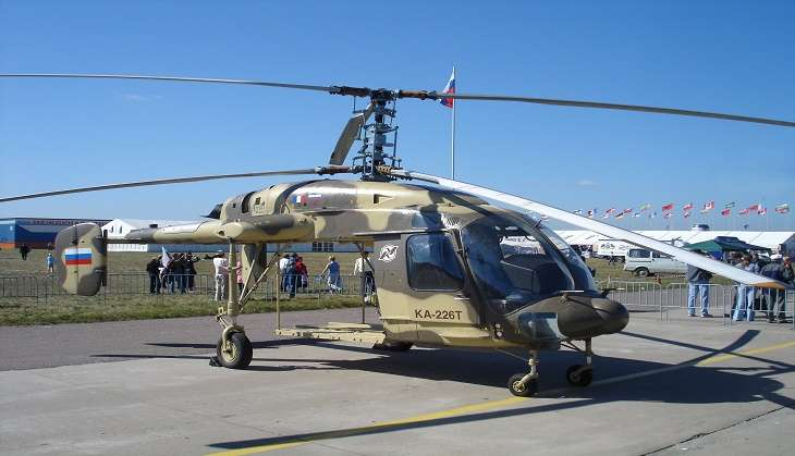 Hindustan Aeronautics to sign deal with Rostec Corporation to manufacture Kamov military choppers