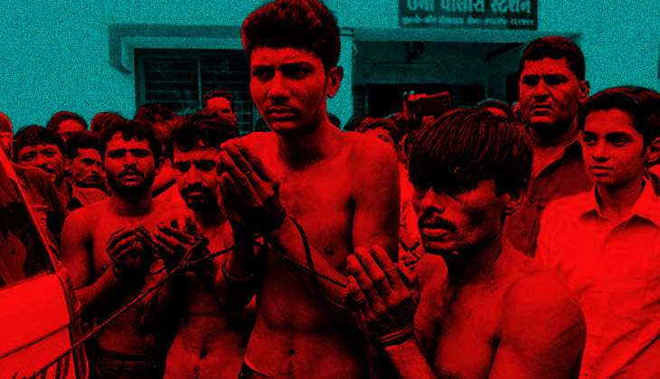 Dalits who got flogged in Una now in RSS camp
