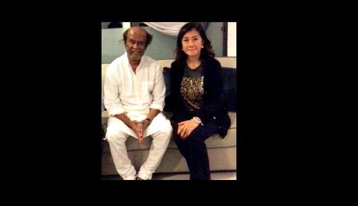 Rajinikanth with Thai Princess