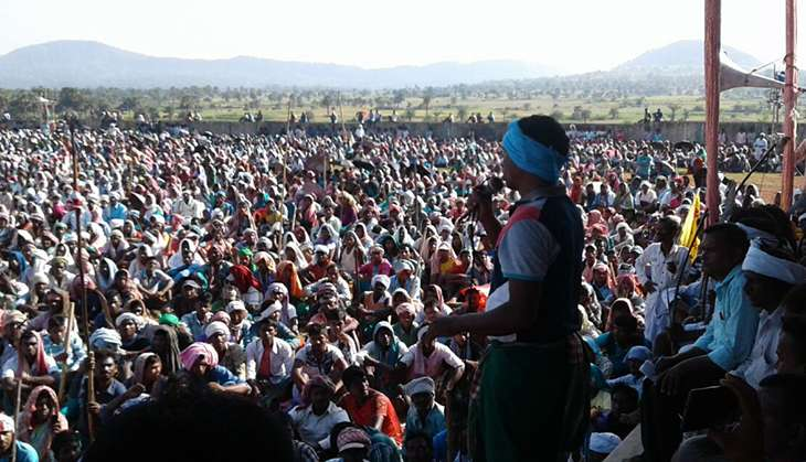 Santhal tribals from seven states congregated in Jharkhand on 16 October
