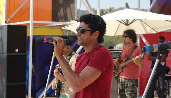 Farhan Akhtar to promote Rock On 2 at Shillong