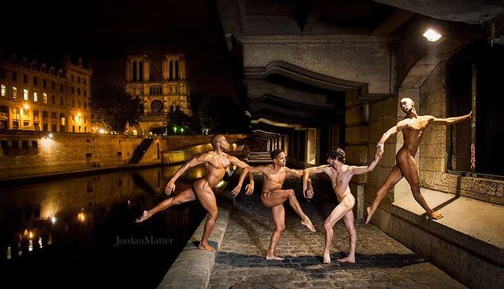 Dancers After Dark: Jordan Matter's stunning nude photo series under city lights