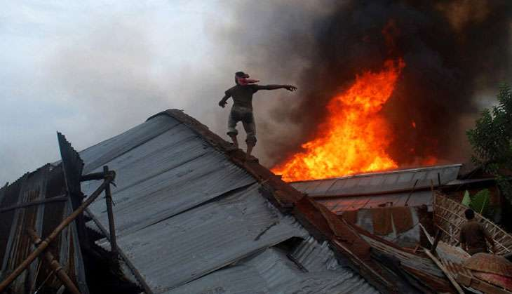 Singed India: the country loses a lot of lives to fire incidents every year
