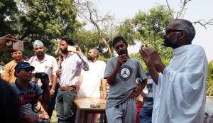 After vandal attack, atheist preacher and family in Vrindavan face media slander