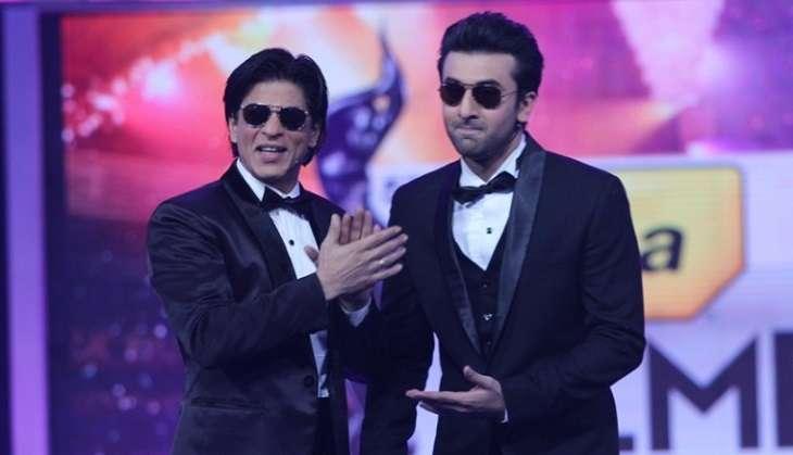 Shah Rukh Khan and Ranbir Kapoor at Filmfare