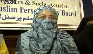 Muslim women are happy with Muslim Personal Law: AIMPLB's Dr Asma Zehra