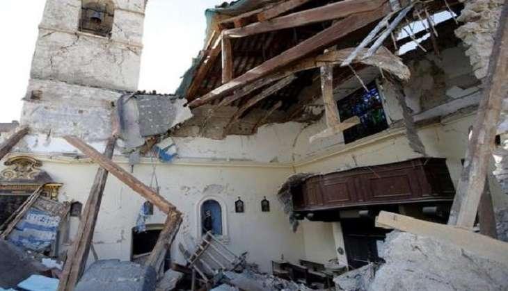6.6 magnitude quake rocks central Italy, St. Benedict Basilica destroyed
