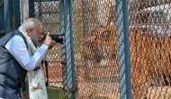 While Pakistan shoots Indian civilians in J&K, Modi shoots... pictures