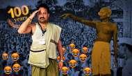 Bihar BJP MLA gives up clothes in the name of Gandhian satyagraha